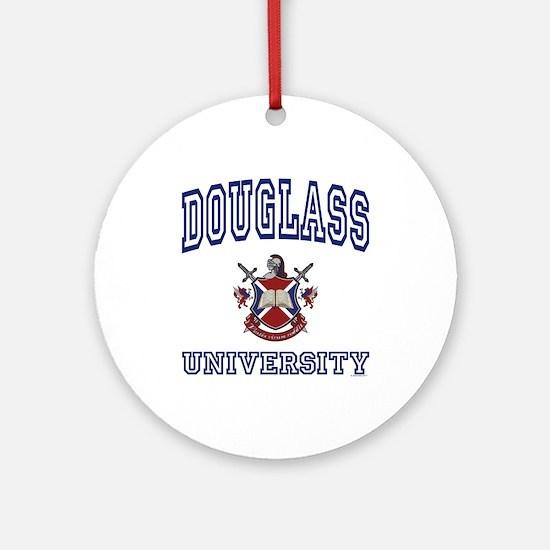 DOUGLASS University Ornament (Round)