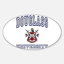 DOUGLASS University Oval Decal