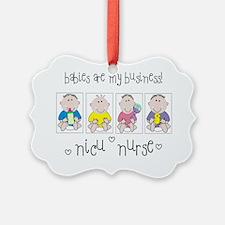 NICU NURSE 4 Babies Ornament