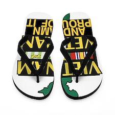 PROUD VIET VET Flip Flops