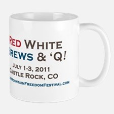 Rocky Mountain Freedom Festival Bumper  Mug