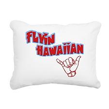 flyin-red Rectangular Canvas Pillow