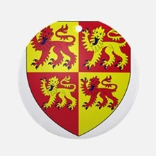 wales coat of arms Round Ornament
