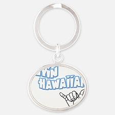 flyin4 Oval Keychain