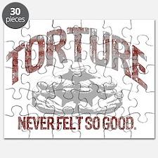 torture bodybuilding blk Puzzle