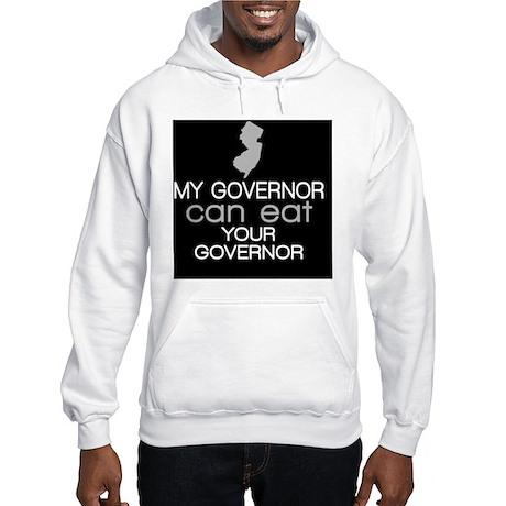 new_jersey_button_christie Hooded Sweatshirt