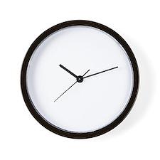 thirteen point freaking one white Wall Clock