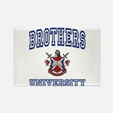 BROTHERS University Rectangle Magnet
