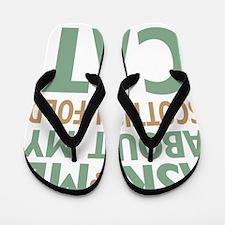 catscottishfold-01 Flip Flops