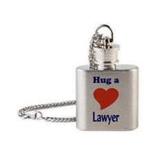 LAWYER Flask Necklace