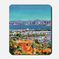 View of San Diego Bay by Riccoboni9x12 Mousepad