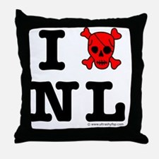 Newfoundland and Labrador Throw Pillow