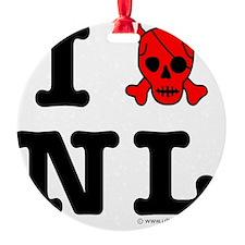 Newfoundland and Labrador Round Ornament