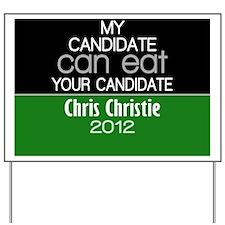 chris_christie_2012 _02 Yard Sign
