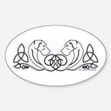 N Celtic GDS Oval Decal