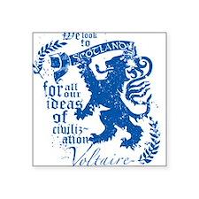 """Voltaire Square Sticker 3"""" x 3"""""""
