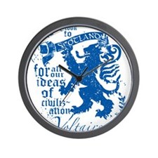 Voltaire Wall Clock