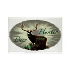 Deer Hunter Rectangle Magnet