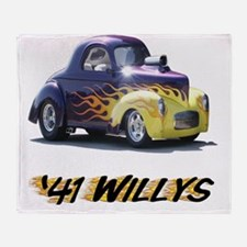 41-Willys Throw Blanket
