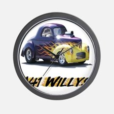 41-Willys Wall Clock