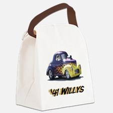 41-Willys Canvas Lunch Bag