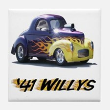 41-Willys Tile Coaster