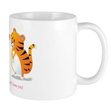 two tigers roseLove Small Mug
