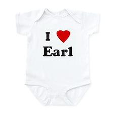 I Love Earl Infant Bodysuit
