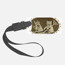 Gardening Kitties Luggage Tag