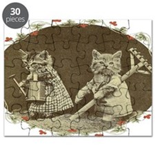 Gardening Kitties Puzzle