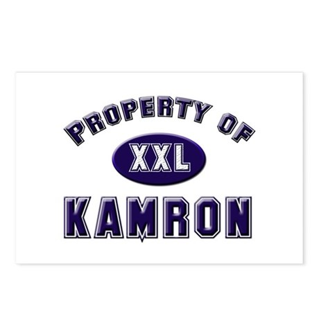 Property of kamron Postcards (Package of 8)