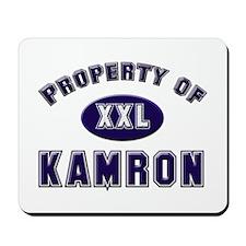 Property of kamron Mousepad