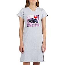 Jack Dempsey cichid Women's Nightshirt