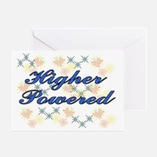 hgher powered Greeting Card