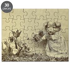 Garden Puppy Puzzle