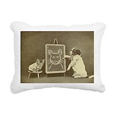 school days Rectangular Canvas Pillow