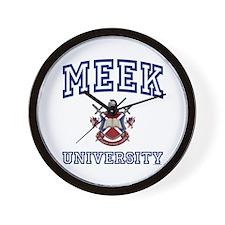 MEEK University Wall Clock