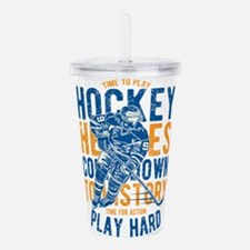 Hockey Heroes Acrylic Double-wall Tumbler