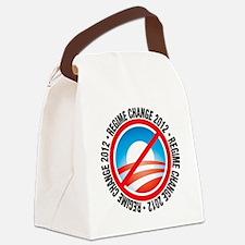 REGIME CHANGE 2012 O Canvas Lunch Bag
