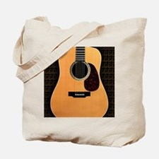 acoustic-guitar-framed panel print copy Tote Bag