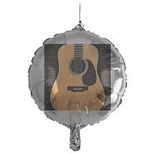 acoustic-guitar-framed panel print c Balloon