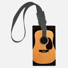 acoustic-guitar-framed panel pri Luggage Tag