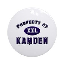 Property of kamden Ornament (Round)