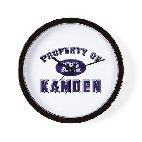Property of kamden Wall Clock