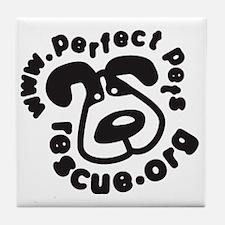 ppr logo Tile Coaster