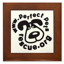 ppr logo Framed Tile
