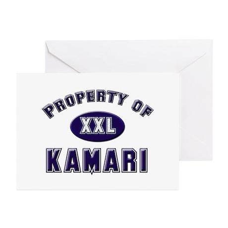 Property of kamari Greeting Cards (Pk of 10)
