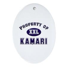 Property of kamari Oval Ornament