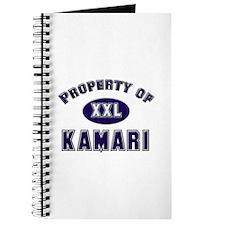 Property of kamari Journal