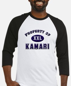Property of kamari Baseball Jersey